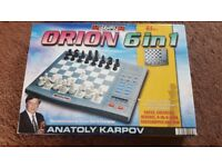 Orion 6in1 electronic chess *Excellent condition*