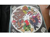 Vinyl green jelly picture disk