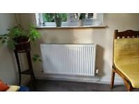 2 double panel radiators