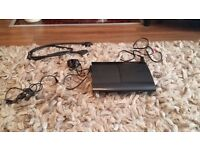 PS3 Black slim 500GB with Games