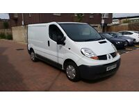 RENAULT TRAFIC 57REG 2007 SL27DCI+90 fresh MOT Panel Van same as Vauxhall Vivaro 1.9 DCI , 6 SPEED