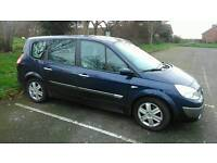 2005 RENAULT GRAND SCENIC DYNAMIQUE VVT 16V AUTOMATIC 7 SEATER (STEERING FAULT, NEEDS REPAIRING.)