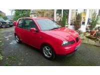 2002 Seat arosa 1ltr 3 door hatchback car