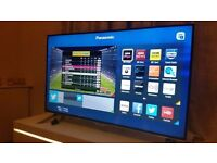 """PANASONIC 48"""" 48CX400B SUPER Smart 4K ULTRA HD TV,built in Wifi,Freeview HD,excellent condition"""