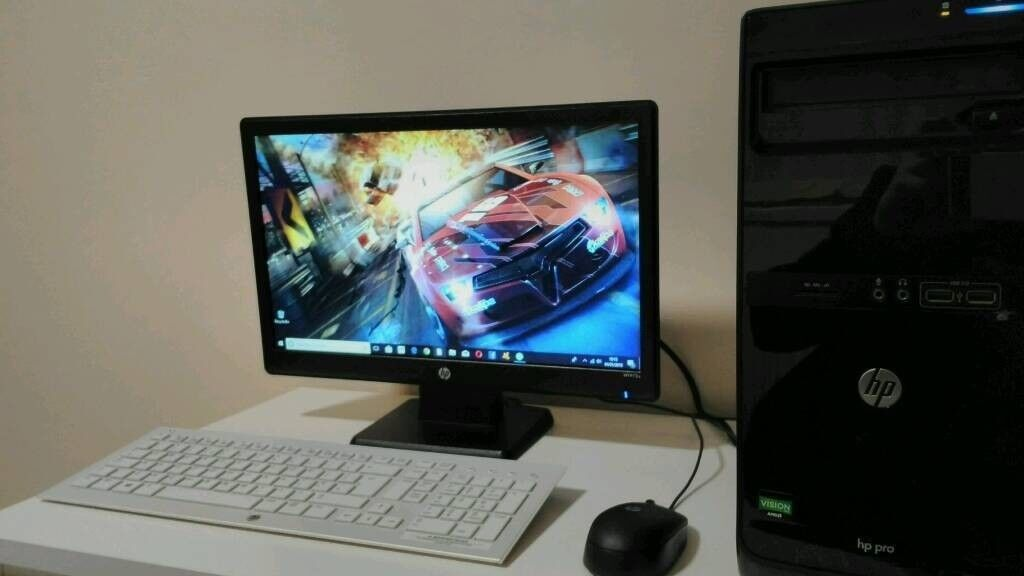 SELL/SWAP/Hp pro PC/monitor/keyboard/mouse/wifi adaptor Corby | in Corby,  Northamptonshire | Gumtree