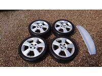 "Corsa C SRI Alloy wheels 16"""