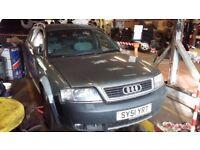 Audi A6 Allroad, SPARES or REPAIRS.