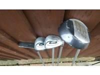 Junior 4 piece golf clubs