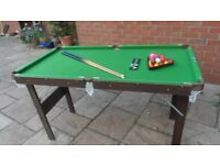 Pool Table 4ft 6 excellent condition