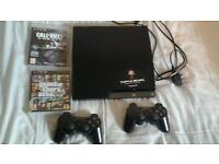 ps3 with ghost and gta5 120gb
