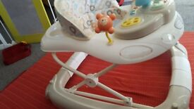 2 in 1 very nice condition Baby Walker