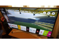 49 Inch LG Smart TV, Super Ultra HD TV for Sale (In like new condition, 3 months old)