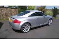 Audi TT Quattro 2002. Outstanding condition. Low mileage. Lady Owner. Full service history.