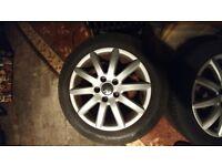 "Volkswagen Jetta Ronal Alloy Wheels 5x112 16"""
