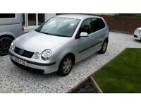 2003 VW POLO 1.4 PETROL AUTOMATIC BREAKING SPARES
