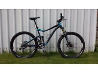 Giant Trance 2 full suspension mountain bike with Rockshox Reverb dropper
