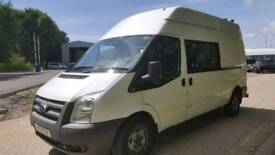 FORD TRANSIT T350 LWB HIGH/ROOF 8 SEATER