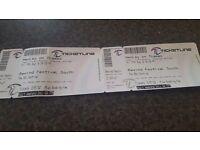 Rewind South tickets x2