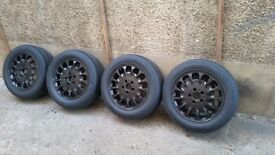 Mercedes 16 inch alloy wheels wih tyres e class,s class, c class etc 5x112
