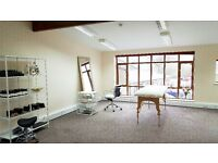 Office ,hairdressing chair beauty therapy room to rent