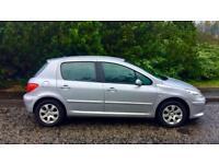 Peugeot 307 1.6, One Year MOT, 79000 Miles, Very Clean