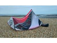 9m 2015 Flexifoil shiva 3d + bar and lines.