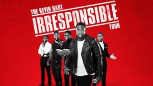 Section 116 2 tickets for Kevin Hart Irresponsible Tour 7pm