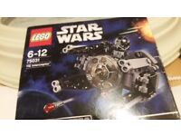 Star wars Lego new 75031 The Interceptor microfighter