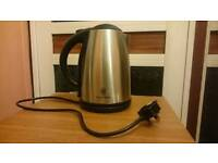 **MUST GO!** Russell Hobbs kettle, Silver, Great Condition