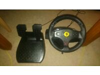 Thrustmaster GT Fusion Racing steering wheel