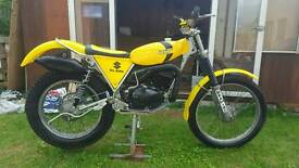 Suzuki Beamish RL325 TRIALS Bike
