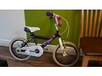 """16"""" girl bike"""