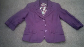 Purple Linen Jacket