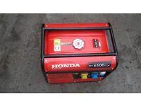 Honda generator 6.5kva new