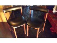 mcintosh retro dining chairs