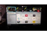 Samsung ue32f5500 32 inch l.e.d smart tv with wifi