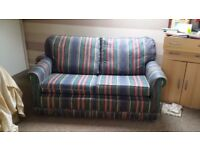 Sofabed - two seater with sprung mattress