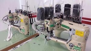 Flat lock - sewing machine - machine à coudre