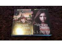 The Vampire Diaries set by L.J. Smith