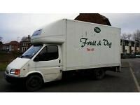 Ford Transit Luton Box Van Ready For Work