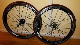 Pro-lite Gavia deep dish wheelset RRP £899.99