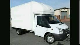 24/7 man and van removals service house office flat relocation home move rubbish packing storage