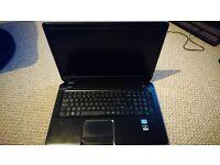 Gaming high spec i7 HP dv7 17.3 inch full HD, 16 GB ram, 1TB HDD, Blue ray, windows 10 laptop