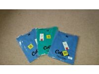 3 x 4XL brand new Cotton Traders v-neck t-shirts