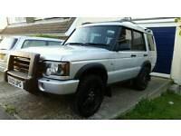 2002 (52) LAND ROVER DISCOVERY XS 2.5 TD5 AUTO 7 SEATER