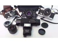 Assortment of Cameras
