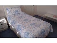 Dorma Blue Toile Single Duvet - 8 Piece Bed Set