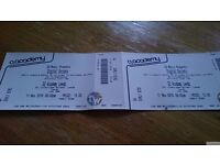 Digital society ( subculture) 2x tickets, 02 academy leeds , 11th of nov