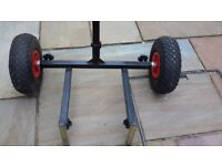 Koala Fishing Box Trolley for sale. Exc condition. Little used.