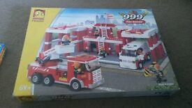 fire station lego set